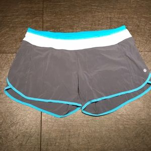 Lululemon Tracker Run short size 12